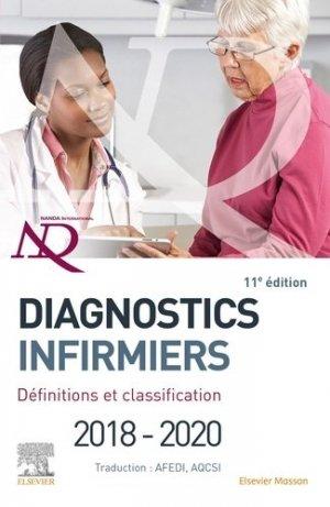 Diagnostics infirmiers 2018-2020 - elsevier / masson - 9782294762499
