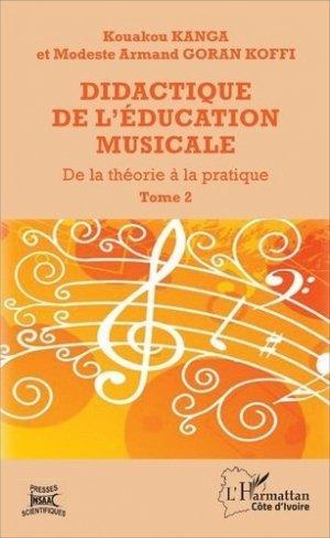 Didactique de l'éducation musicale - l'harmattan - 9782343113050 -