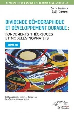 Dividende démographique et développement durable - l'harmattan - 9782343176420 -