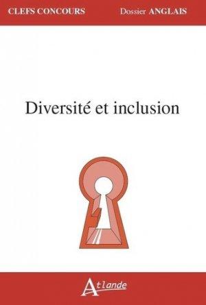 Diversité et inclusion - atlande - 9782350306971 -