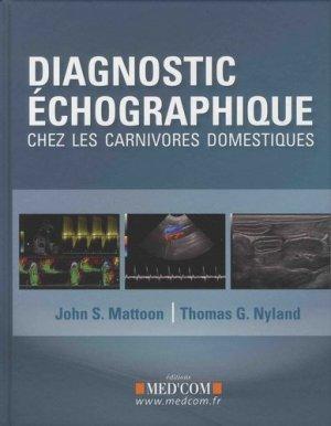 Diagnostic échographique - med'com - 9782354032524 -