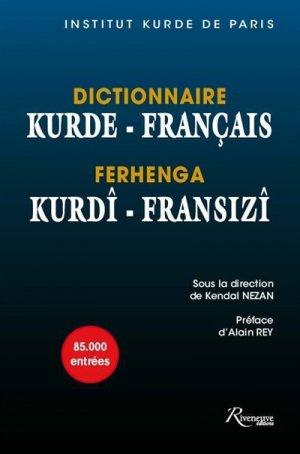 Dictionnaire kurde-français - riveneuve - 9782360134311 -