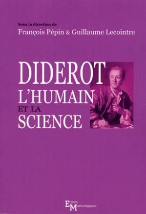 Diderot, l'humain et la science - materiologiques - 9782373611137 -