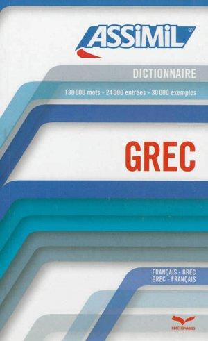 Dictionnaire Grec - assimil - 9782700506006