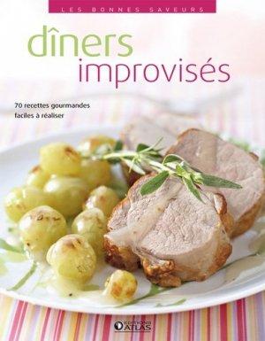 Dîners improvisés - Glénat - 9782723476164 -
