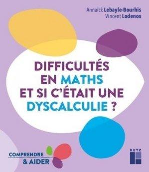 Difficultés en maths - Retz - 9782725637792 -