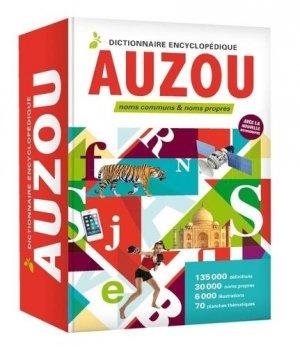 Dictionnaire encyclopédique Auzou - auzou - 9782733865910 -