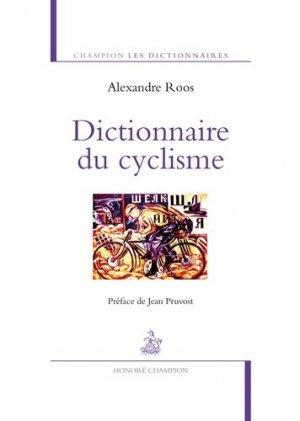 Dictionnaire du cyclisme - honore champion - 9782745330123 -