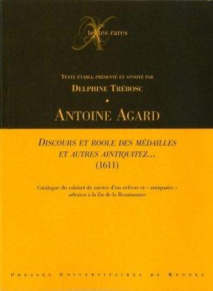 Discours et roole des médailles et autres aintiquitez... (1611) - presses universitaires de rennes - 9782753504707 -
