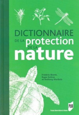 Dictionnaire de la protection de la nature - presses universitaires de rennes - 9782753508170 -