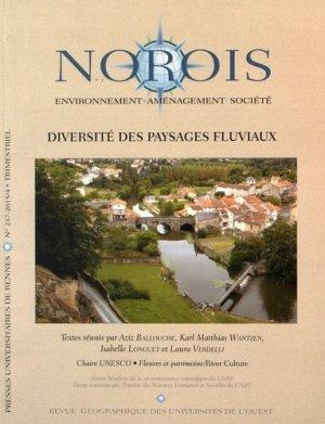 Diversité des paysages fluviaux - presses universitaires de rennes - 9782753550841 -