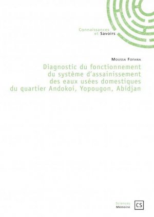 Diagnostic du fonctionnement du systeme d'assainissement des eaux usees domestiques du quartier ando - connaissances et savoirs - 9782753904415 -