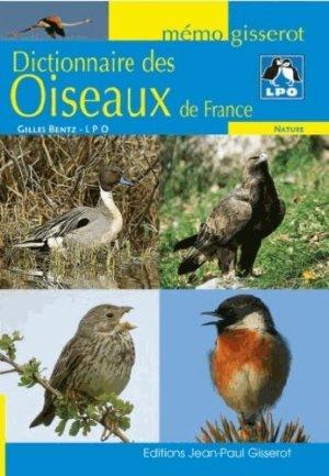 Dictionnaire des oiseaux de France - jean-paul gisserot - 9782755806670 -