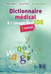 Dictionnaire médical à l'usage des IDE - lamarre - 9782757301814 - rechargment cartouche, rechargement balistique