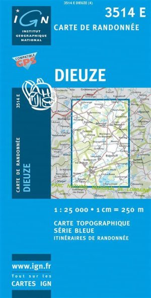 Dieuze - ign - 9782758503064 -