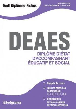 Diplôme d'État d'accompagnement éducatif et social (DEAES) - studyrama - 9782759033652 -