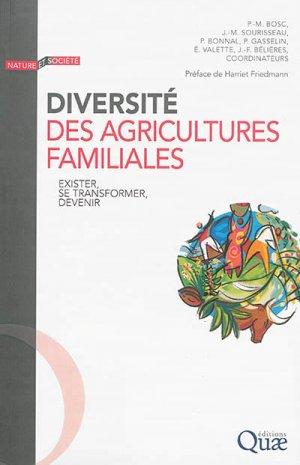 Diversité des agricultures familiales - quae  - 9782759222667 -