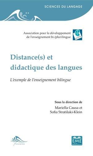 Distance(s) et didactique des langues - eme - 9782806636799