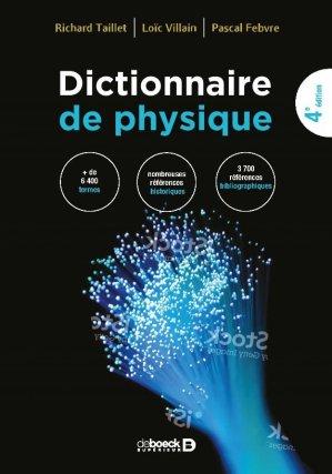 Dictionnaire de Physique - de boeck superieur - 9782807307445 -