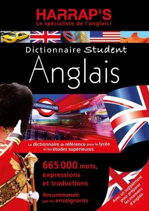 DICTIONNAIRE STUDENT ANGLAIS  - HARRAP'S - 9782818706268 -