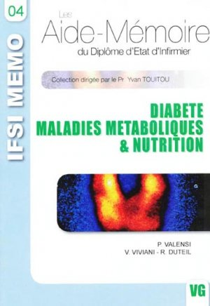 Diabète - Maladies métaboliques & Nutrition - vernazobres grego - 9782841367856 -