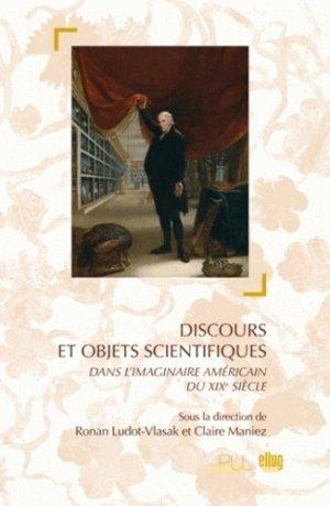 Discours et objets scientifiques - Editions littéraires et linguistique de l'université de Grenoble - 9782843101717 -