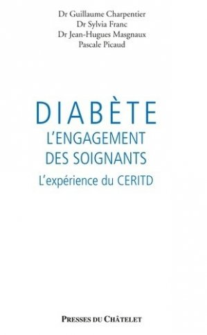 Diabète : l'engagement des soignants - presses du châtelet - 9782845926493