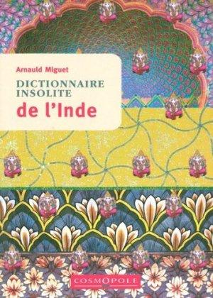 Dictionnaire insolite de l'Inde - cosmopole - 9782846301213 -