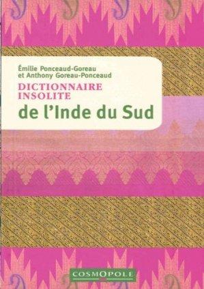 Dictionnaire insolite de l'Inde du Sud - Cosmopole - 9782846301459 -