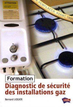 Diagnostic de sécurité des installations fonctionnant au gaz - parisiennes - 9782862430928 -