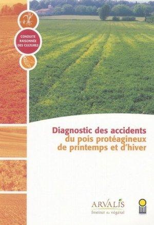 Diagnostic des accidents du pois de printemps - arvalis - 9782864926696 -