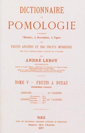 Dictionnaire de pomologie Tome 5 - naturalia publications - 9782876420045