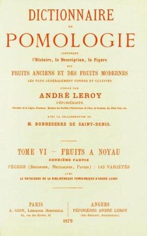 Dictionnaire de pomologie Tome 6 - naturalia publications - 9782876420052