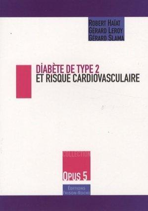 Diabète de type 2 et risque cardiovasculaire - frison roche - 9782876715127