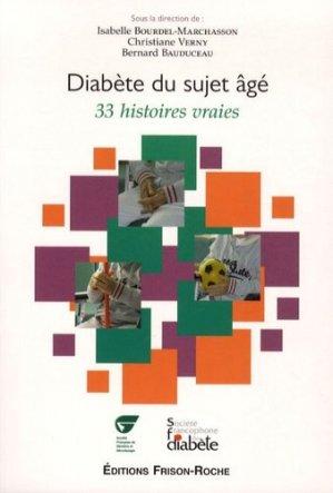 Diabète du sujet âgé - frison roche - 9782876715578 -