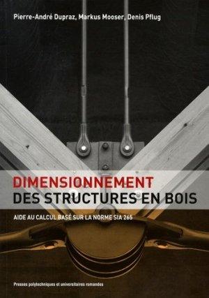 Dimensionnement des structures en bois - PPUR - 9782880747367 -