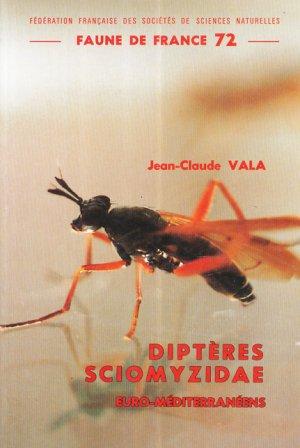 Diptères Sciomyzidae euro-méditerranéens - federation francaise des societes de sciences naturelles - 9782903052065 -