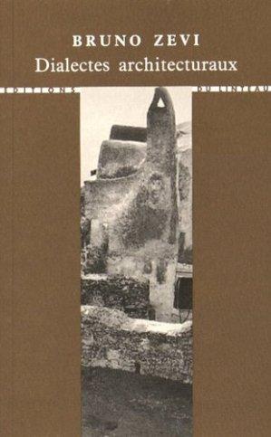 Dialectes architecturaux - du linteau  - 9782910342944 -