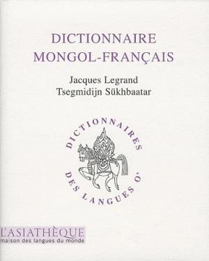 Dictionnaire mongol-français - asiathèque - 9782911053962 -