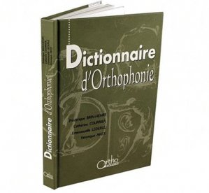 Dictionnaire d'orthophonie - ortho - 9782914121224