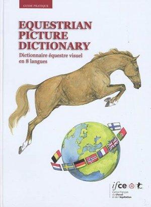Dictionnaire équestre visuel - les haras nationaux - 9782915250763 -