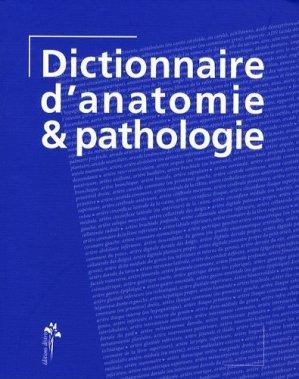 Dictionnaire d'anatomie et pathologie - desiris - 9782915418194 -
