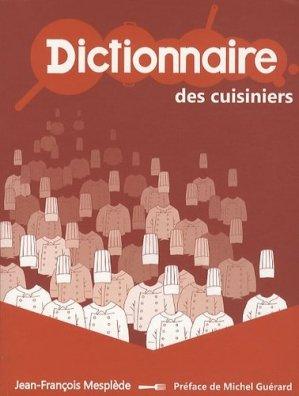 Dictionnaire des cuisiniers - Page d'Ecriture - 9782919195015 -