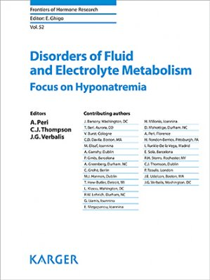 Disorders of Fluid and Electrolyte Metabolism - karger  - 9783318063820 -