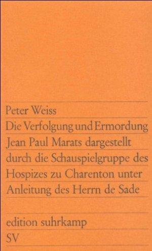 Die Verfolgung und Ermordung Jean Paul Marats - suhrkamp - 9783518100684 -