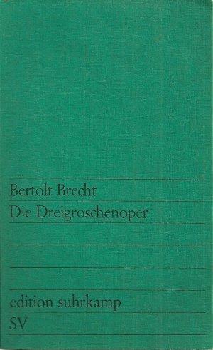 Die Dreigroschenoper - suhrkamp - 9783518102299 -