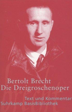 DIE DREIGROSCHENOPER  - SUHRKAMP - 9783518188484 -