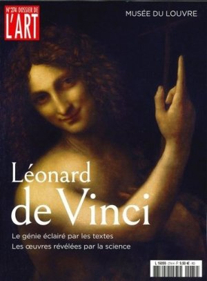 Dossier de l'art N° 274, novembre 2019 : Léonard de Vinci - Faton - 3663322107597 -