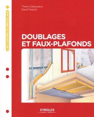 Doublages et faux-plafonds - eyrolles - 9782212127218 -