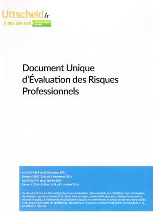 Document unique métier : Assainissement - Vidange - Curage - - uttscheid - 9782371558519 -